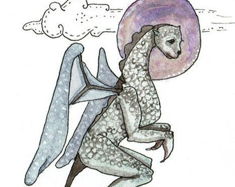 Dragon Art, Greeting Card or Photographic print