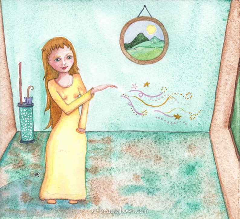 Woman of Magic Prayer and Love Sending the world Healing image 0