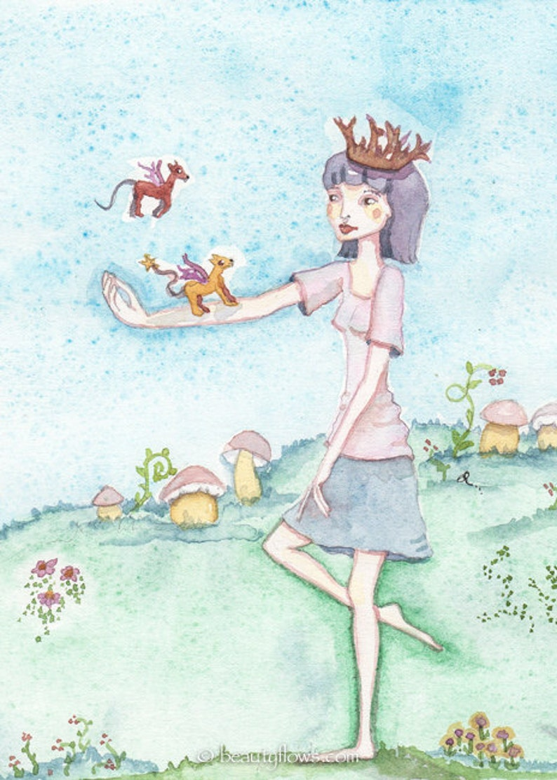 Story Tellers Happy Birthday Fairy Tale Princess Queen image 0