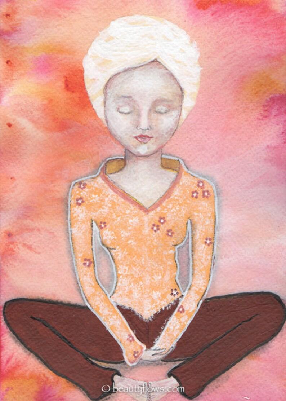 Yogini Meditation Yoga Baddha Konasana Bound Angle image 0