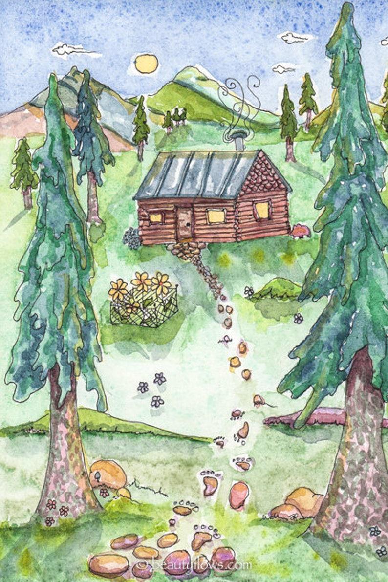 Home Sweet Home Tiny House Log Cabing Montana Life image 0