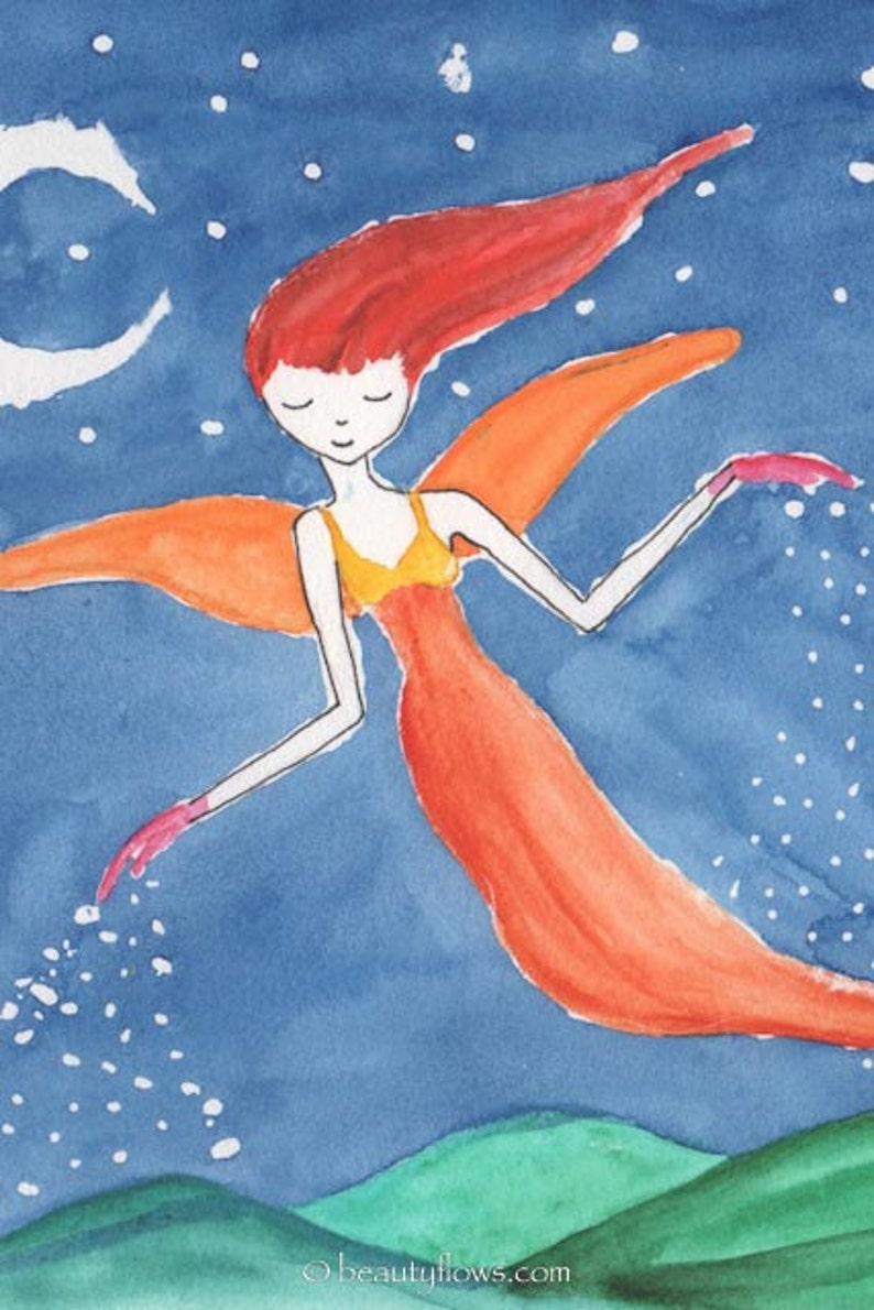 Sweet Dreams Longer Nights Stardust Fairy Sprinkling Love image 0
