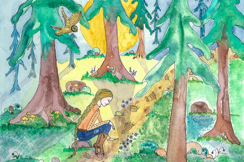 Forest Bathing Tracking Bears Montana Forest Scene Wild image 0