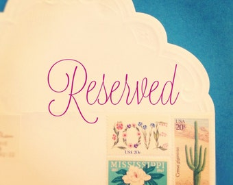 Reserved listing for Laila :)