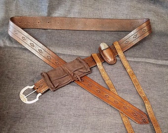 Ranger King Belt/Accessory Set - Aragorn/Strider - Made to Order! Lord of the Rings, Ren Faire, Cosplay