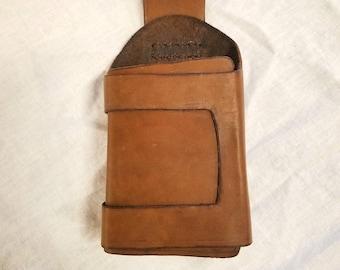 Resistance Trooper/Kaydel Ko Connix Holster - made for Glie-44 Blaster - 100% Genuine Leather, hand-made, OOAK