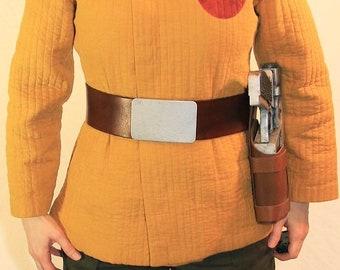 Resistance Trooper/Kaydel Ko Connix Belt or Belt and Holster Set - Leather