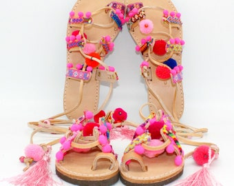 526e22a7500d Mommy and me! Boho Sandals toddler