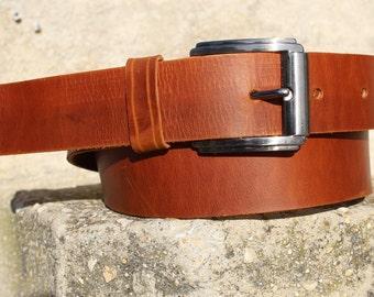 3e412f745349 Ceinture en cuir tabac, pour homme en cuir ceinture, ceinture à boucle en  laiton massif, hommes ceinture en cuir marron, ceinture cuir, ceinture en  cuir ...