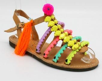 30f7dc46d Children's Gladiator Sandals boho sandals for kids, Childrens greek sandals,toddlers  sandals, girls sandals,sandales bebe, sandales filles
