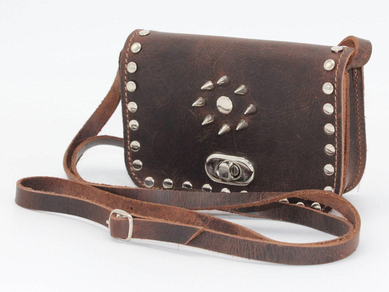 ae39c7fbb569 Small studded crossbody bag womens presentStudded bag