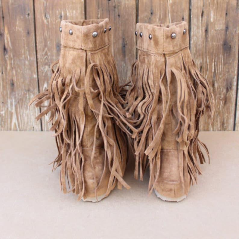 8f279281d447b Boho bootsslouch boots tassel boots womens boots womens