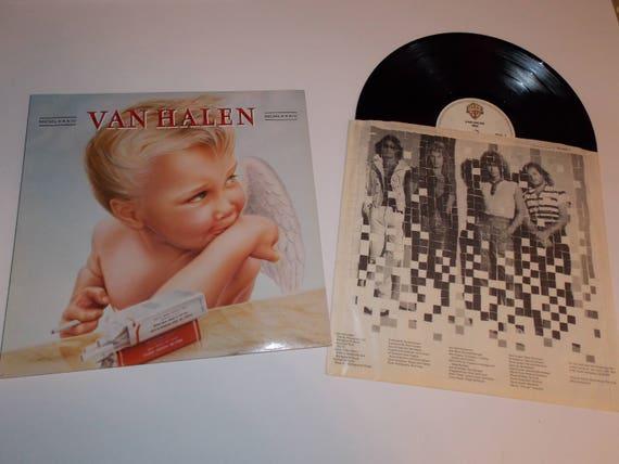 1254081e1b3 1984 Van Halen 1984 Original UK 1st Press Complete w