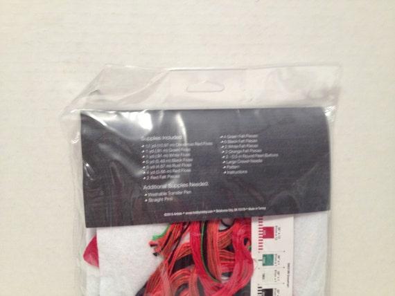 Snowman Stocking Felt  Kit #5003199 Sealed Kooler Design Studios Crafts Christmas