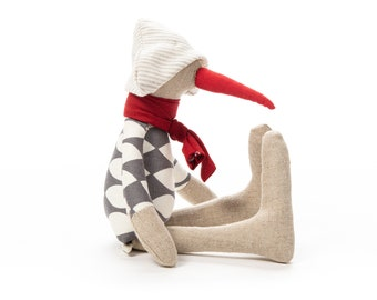 Baby shower gift, Handmade bird, Plush toy doll, Soft toys, Stuffed animal, Handmade doll, Fine toy, Home Decor toy, Cloth doll, Unique doll