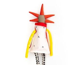 Handmade modern rag doll