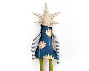 Rag doll, Handmade gift, Figure doll, Cloth doll, Nursery décor, Doll toy, Modern doll, Handmade doll, Decorative doll, Eco friendly toy