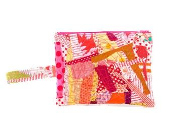 Eco friendly gifts, Pencil case, Zipper pouch, School supplies, Zero waste gift, Children pouch, Stocking stuffer, Fabric pouch, Quilt purse