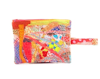 Eco gift, Fabric Pouch, Accessory Pouch, pencil case, Zipper Pouch, handmade gifts,  Zero waste gifts, Children Pouch, Stocking stuffer
