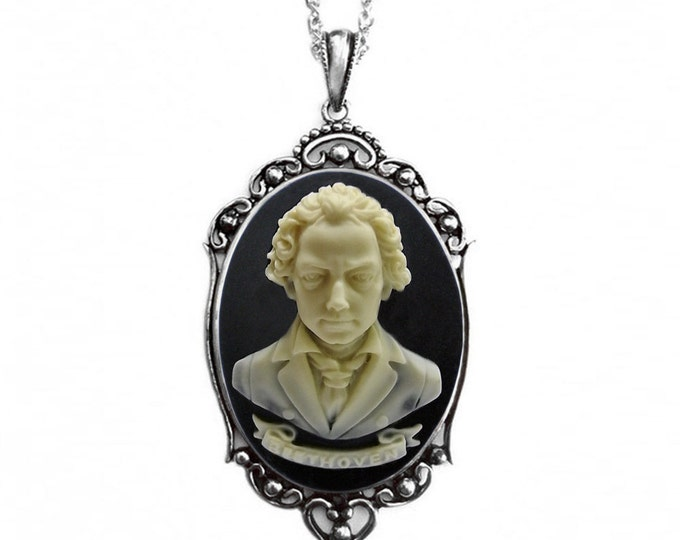 Beethoven Necklace - Music Composer - Jewelry