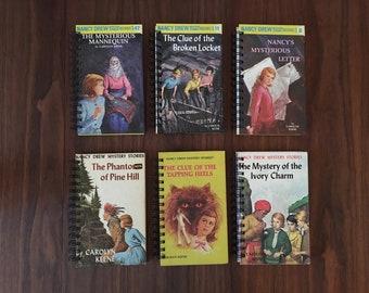 Nancy Drew Upcycled Journal