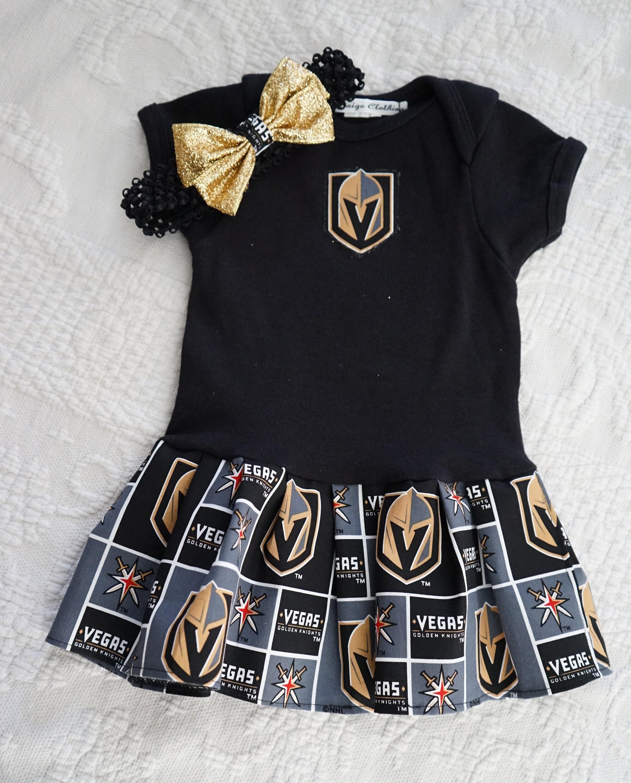 premium selection 981d6 214ac Olivia Paige - Golden Knights Hockey Las vegas dress with headband