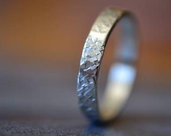 R708 Sterling Silver Stingray Ring