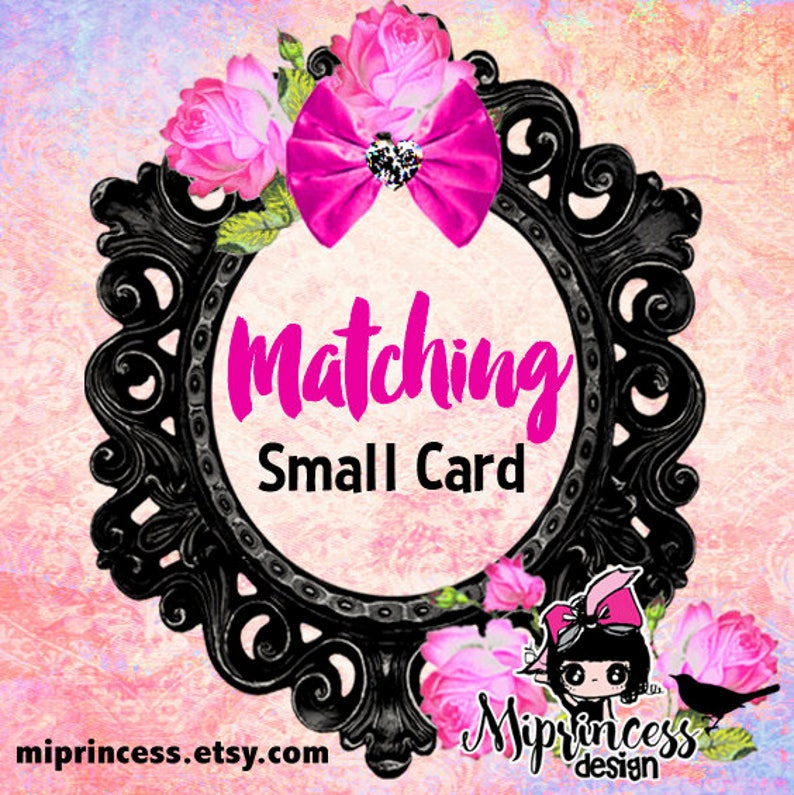 Small card Insert card infomation card book card Reserved for image 0