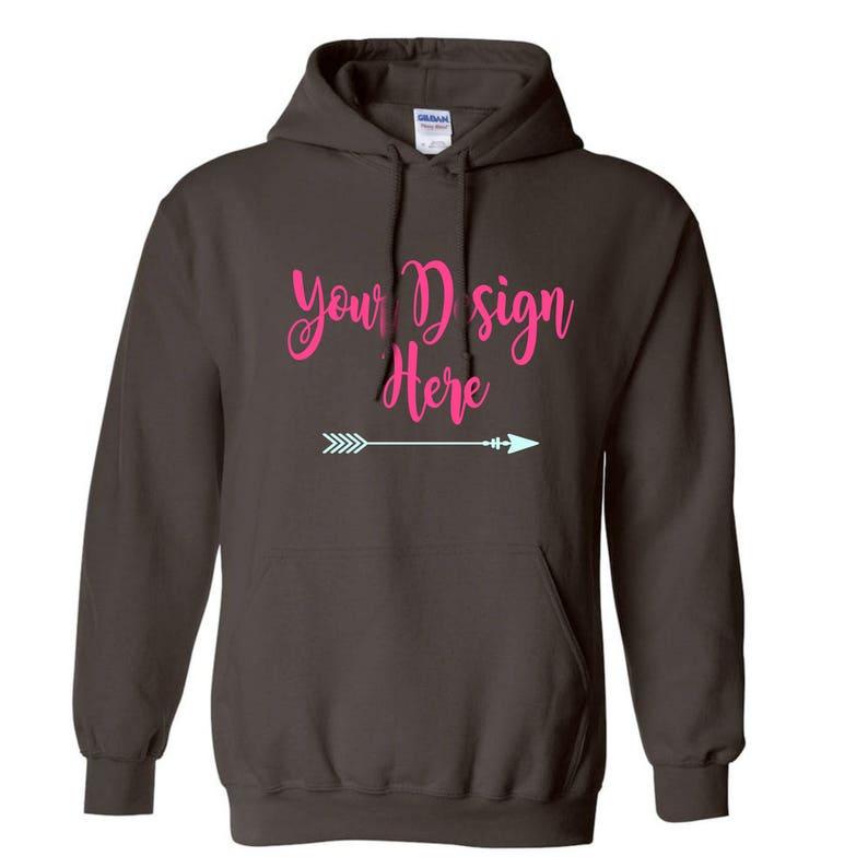 c30fbee7bfb Custom Hoodie Design your own Hoodie Hooded Sweatshirt
