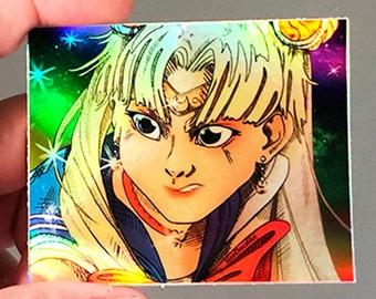 SailorMoon Art Challenge Holographic Stickee