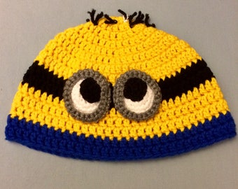 e6123b4d6a78b Minion Hat for Adults ships free