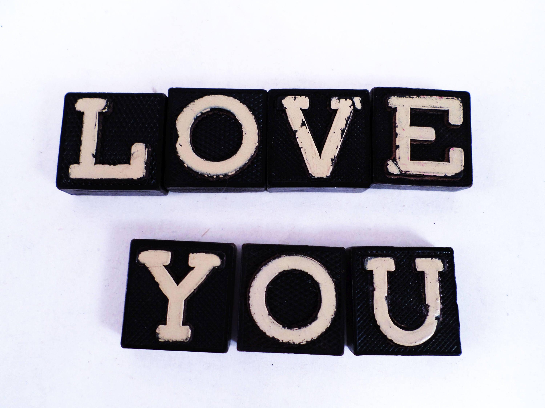 Mattonelle di legno anagramma alfabeto lettere giocattoli etsy