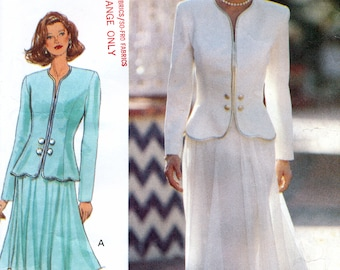 Butterick 3429 Sewing Pattern by Rimini for Misses' Top and Skirt - Uncut - Size 12, 14, 16