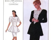 Simplicity 8900 Gunne Sax Sewing Pattern for Misses 39 Dress - Uncut - Size 10