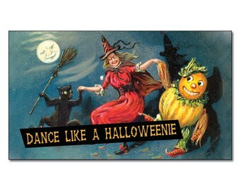 Dance Like a Halloweenie Fridge Magnet