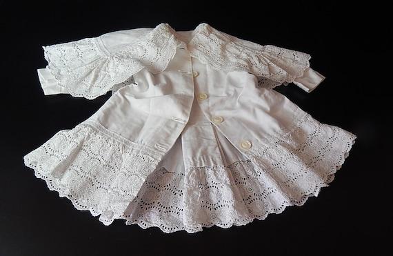 Vintage English Edwardian Coat for Baby/Toddler