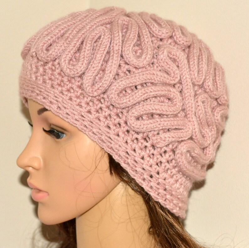 b97e53681c7 Brain Hat  Brain Beanie Unisexcrochet Beanie Mens Crochet