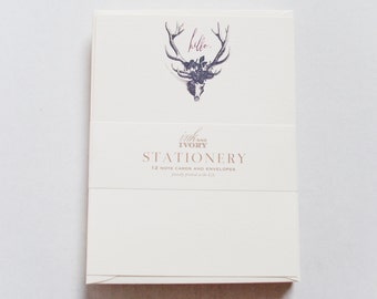 Hello Antler Stationery Box Set