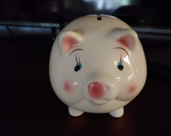 Vintage gourd pig toy