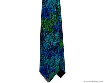 NEW! Coral Borealis extremely limited-edition ultra-high quality necktie