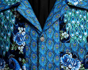 NEW! Legend Ultimate Peacock A extremely limited-edition ultra-high quality men's shirt