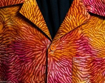 NEW! Orange Sunshine extremely limited-edition ultra-high quality men's shirt