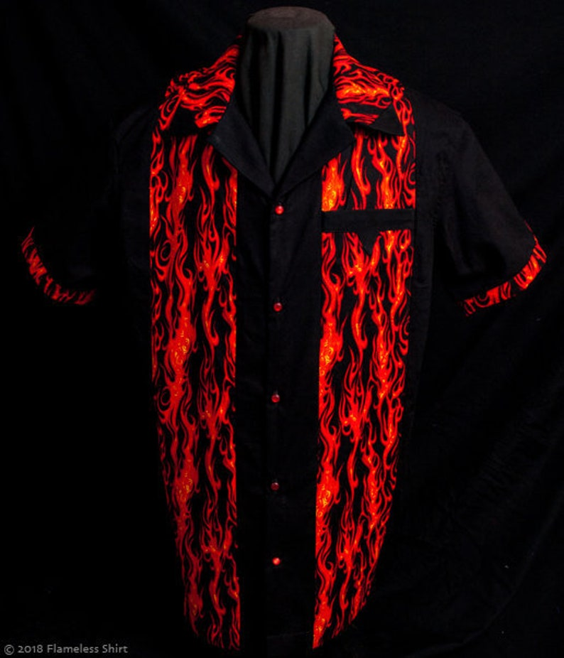 Legend Fire limited-edition ultra-high quality men's shirt image 0