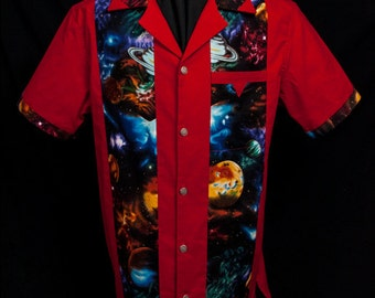 NEW! Legend Space Red limited-edition ultra-high quality men's shirt