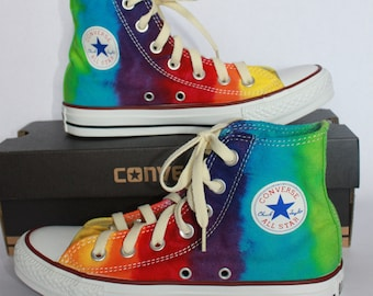 4386de03cab66e Tie Dye Converse All Star Chuck Taylor Shoes High Top Low Top Custom
