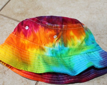 e393be39c79 Tie Dye Bucket Hat Kids and Adults Sizes