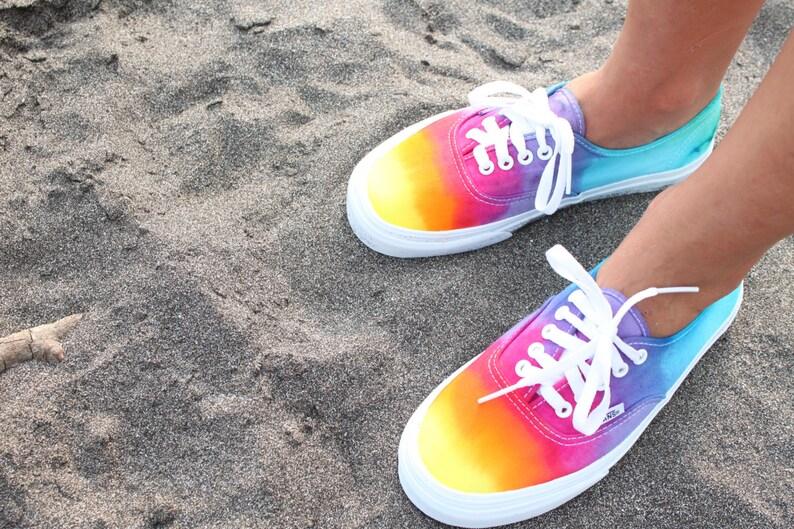 ae8aed1dc19 SALE The Original Custom Tie Dye Vans Shoes
