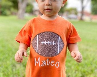 Boys football outfit, football romper, baby boy clothing, toddler boy clothing, monag