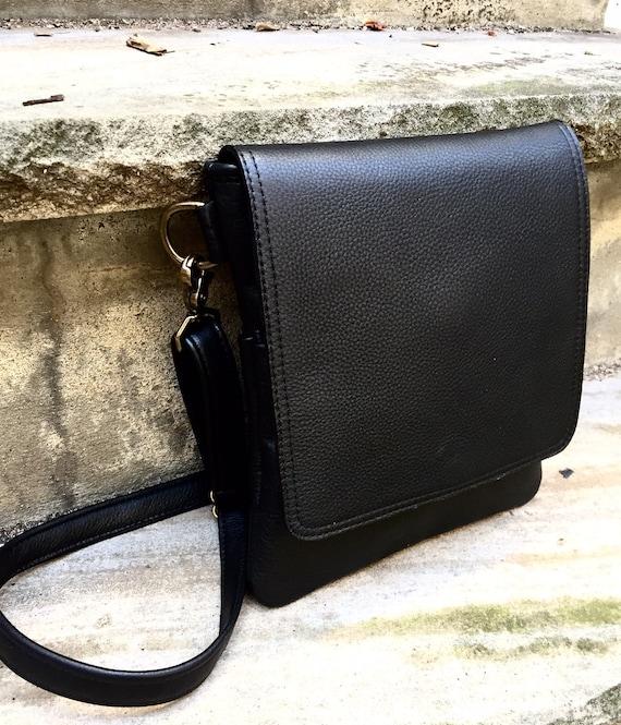 Leather Messenger Bag, leather Cross Body bag, Crossbody bag, Leather Urban Messenger Bag - Laurel Dasso