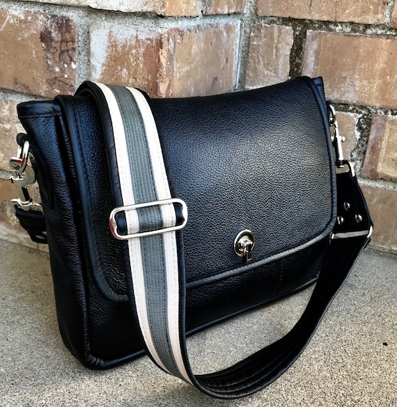 Leather Messenger Bag, Laptop Bag, Leather tote, Laptop bag, leather Urban Tote Bag - Laurel Dasso